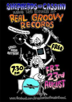 2013-08-23 Real Groovy